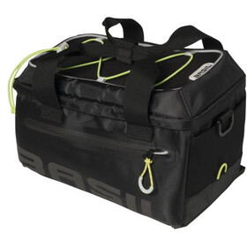 Basil Miles Trunkbag 7l, black lime